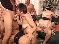 Mature orgy